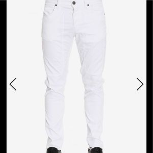 NWT Jeckerson summer white casual pant Sz 34